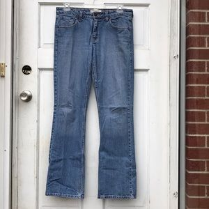 Levi Strauss Stretch Low Rise Bootcut Jeans 10 L